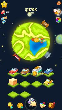 Merge Car: World Tycoon poster