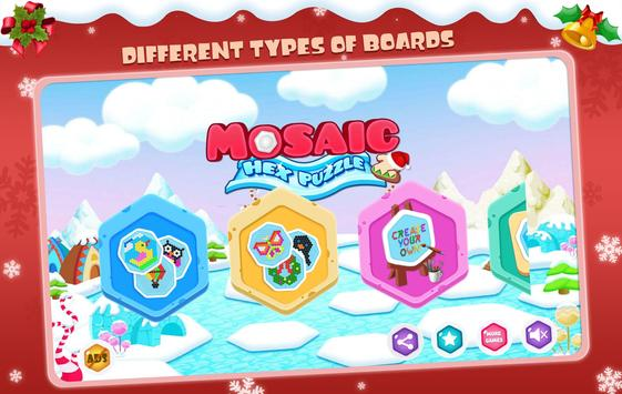 Mosaic Hex Puzzle 2 poster