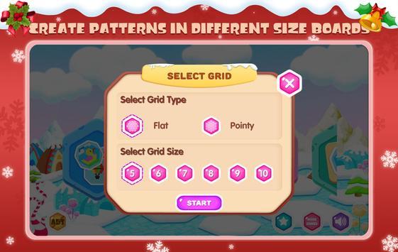 Mosaic Hex Puzzle 2 screenshot 3