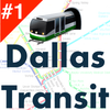 Dallas Public Transport Offline/live DART TRE time आइकन