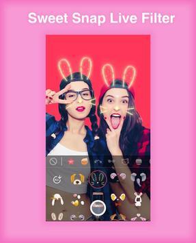 Sweet Snap Live Filter - Snap Cat Face Camera screenshot 2