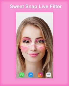 Sweet Snap Live Filter - Snap Cat Face Camera screenshot 4