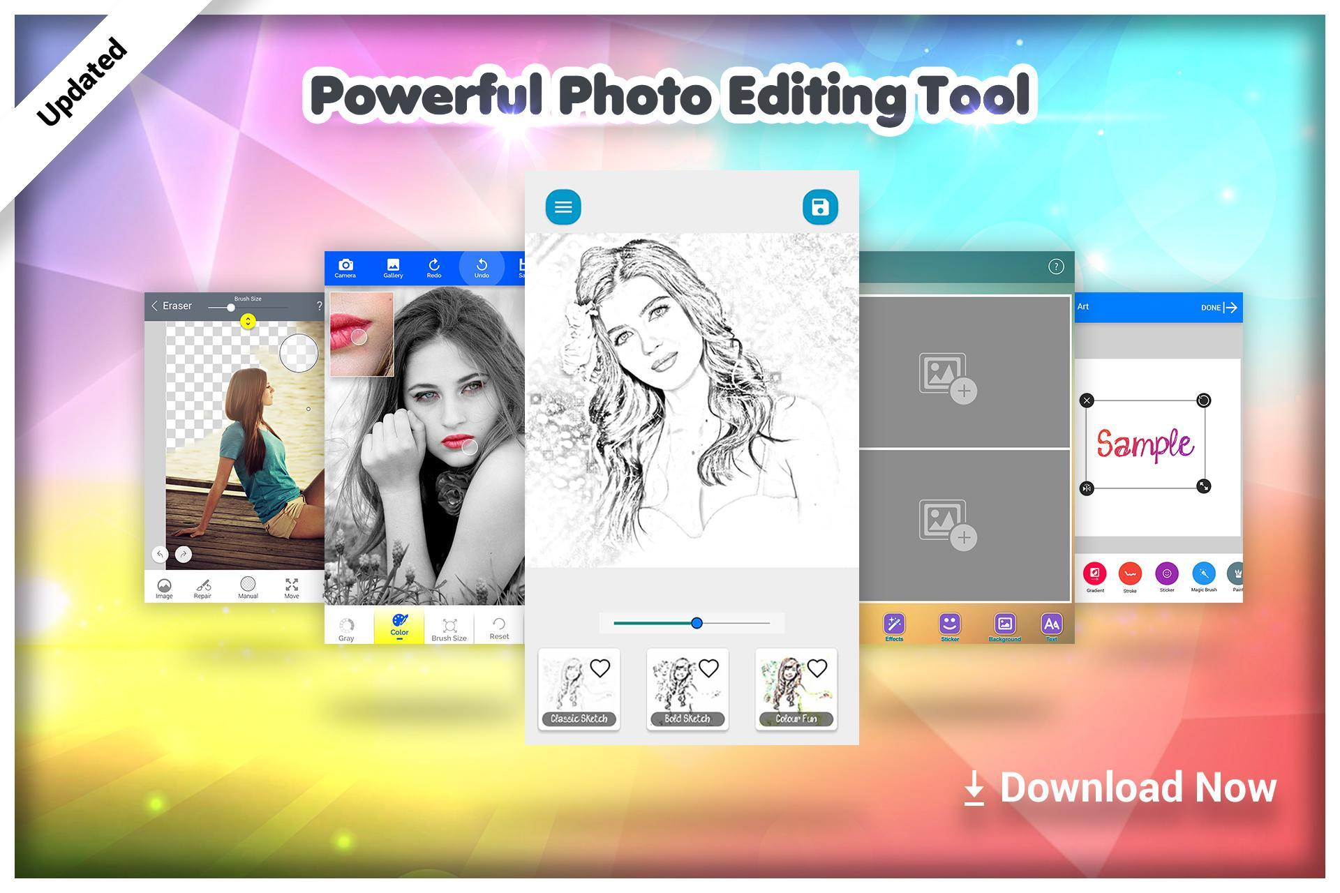 Photo Sketch : Photo Editor poster