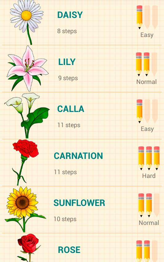 How to Draw Flowers poster