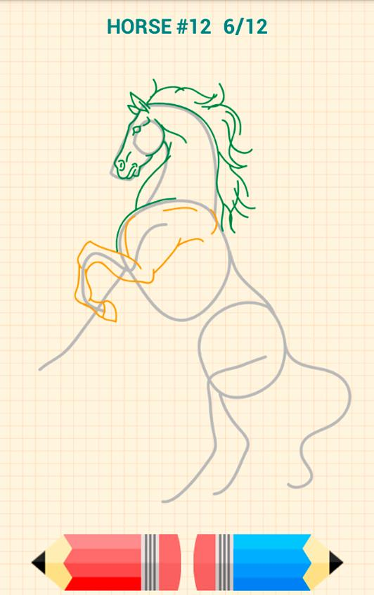 How to Draw Horses poster