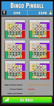 Bingo Pinball screenshot 2