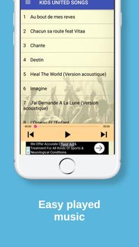 Kids United Music | All Songs + Acoustic versions screenshot 2