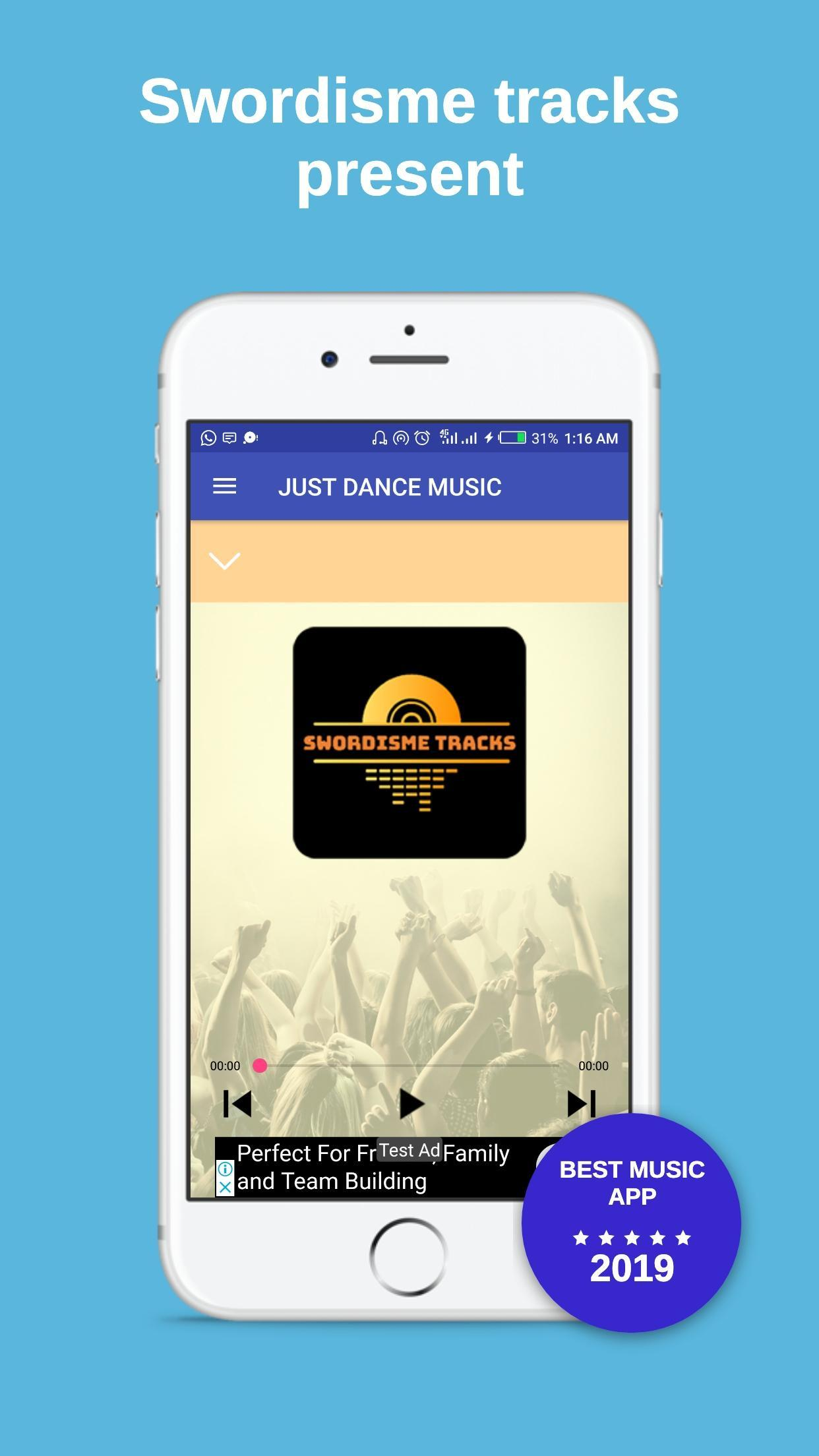 JUST DANCE (HQ) MUSIC | Best Songs Mixture for Android - APK Download