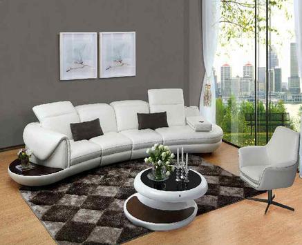 Apartment Leather Living Room screenshot 2