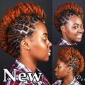 Black Woman Dreadlocks Hairstyle