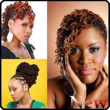 Black Woman Dreadlocks Hairstyle screenshot 4