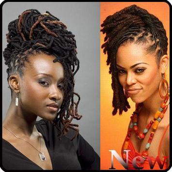Black Woman Dreadlocks Hairstyle screenshot 6