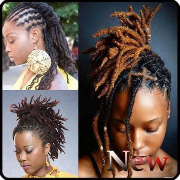 Black Woman Dreadlocks Hairstyle screenshot 1