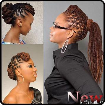 Black Woman Dreadlocks Hairstyle screenshot 2
