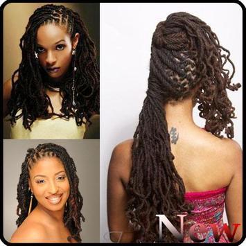Black Woman Dreadlocks Hairstyle screenshot 3