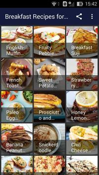 Breakfast Recipes for Kids poster