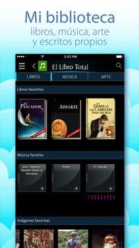 Libros y audiolibros gratis - El Libro Total screenshot 4