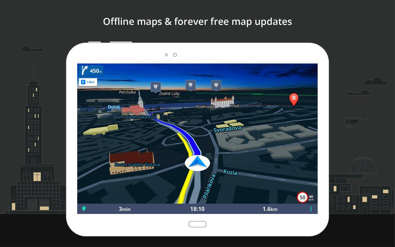 SYGIC 15.6.6 GPS NAVIGATION ДЛЯ ANDROID КАРТЫ СКАЧАТЬ БЕСПЛАТНО