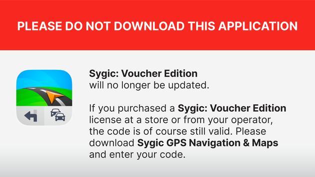 Sygic: Voucher Edition 海报