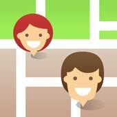 Icona Localizzatore Famiglia - Localizzatore GPS