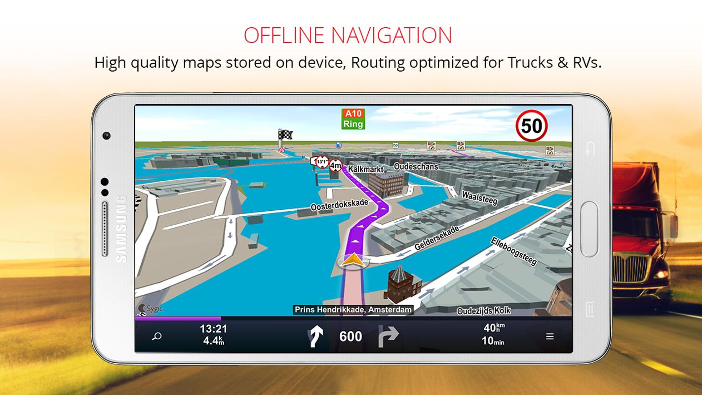 Sygic Professional Navigation For Android Apk Download
