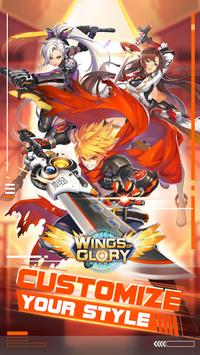 Wings of Glory: 3D MMOPRG & Trade weapons freely poster