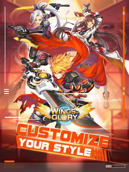 Wings of Glory: 3D MMOPRG & Trade weapons freely screenshot 10