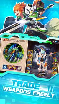 Wings of Glory: 3D MMOPRG & Trade weapons freely screenshot 1