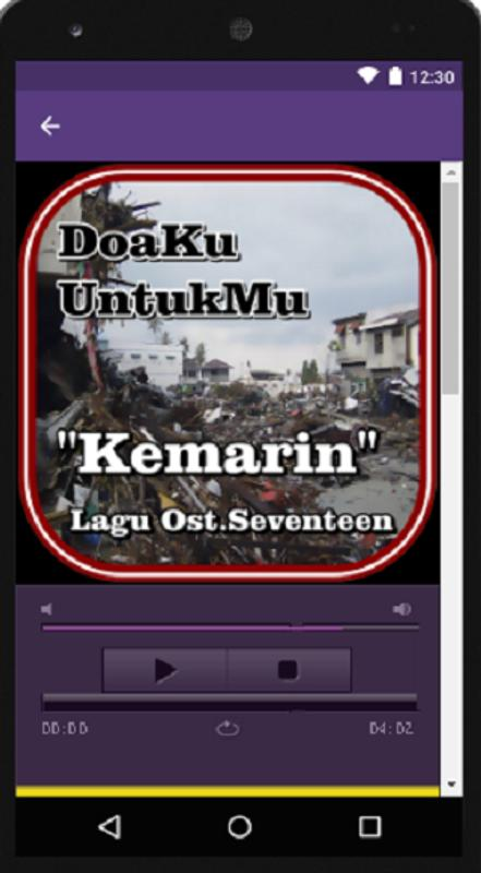 Mp3 Lagu Kemarin Ost Seventeen For Android Apk Download