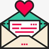 情书宝典—情话大全,表白神器 icon