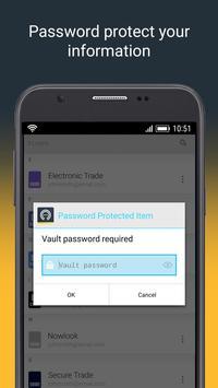 Norton Password Manager स्क्रीनशॉट 2