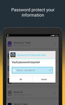 Norton Password Manager स्क्रीनशॉट 8
