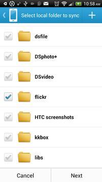 DS cloud screenshot 2