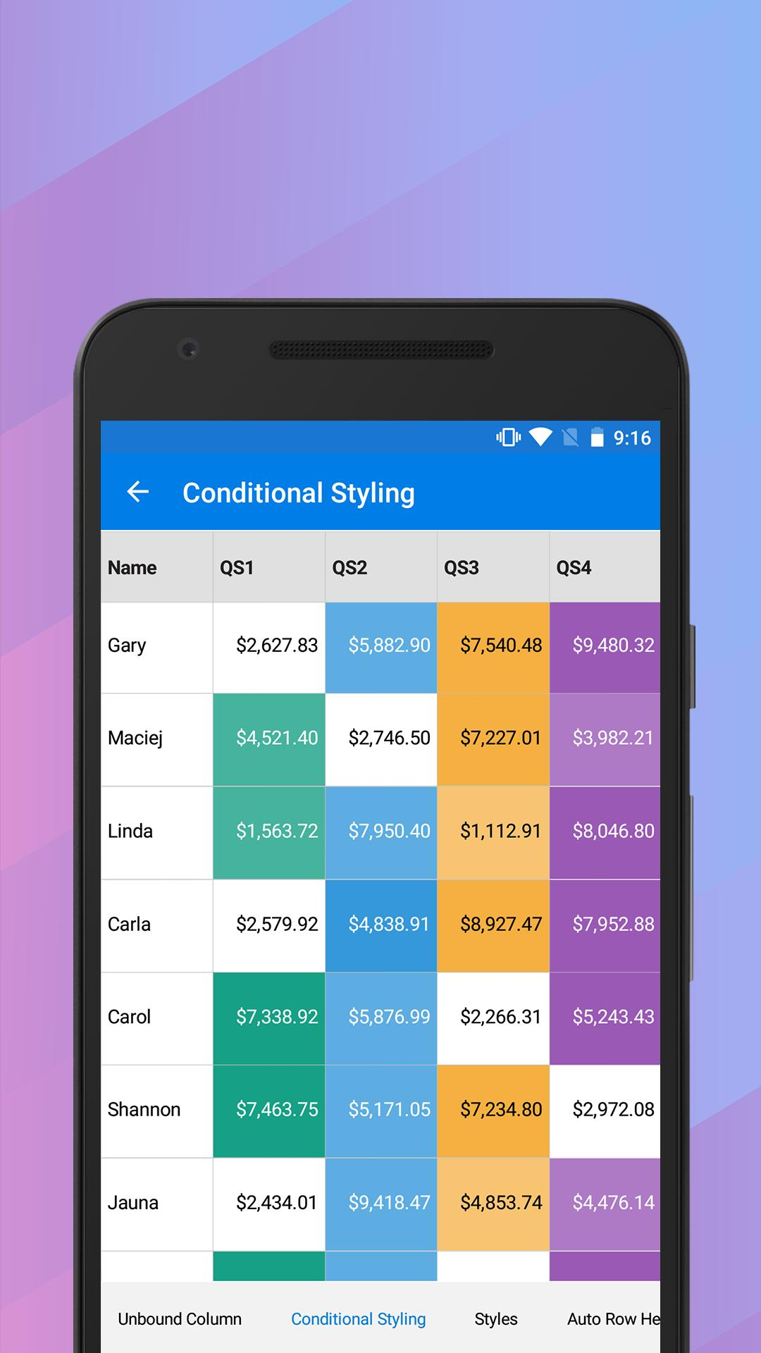 Syncfusion Xamarin UI Controls for Android - APK Download