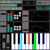 Sintetizador FM [SynprezFM II] ícone