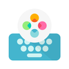 Эргономичная клавиатура Fleksy -Emoji Keyboard GIF APK