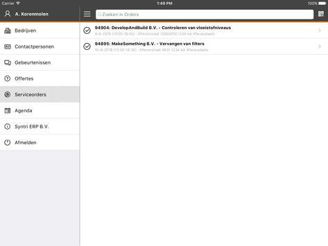 Syntri Service screenshot 9