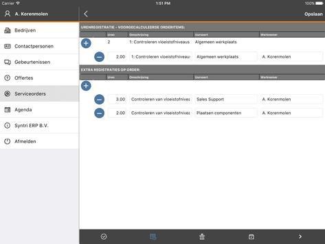 Syntri Service screenshot 12