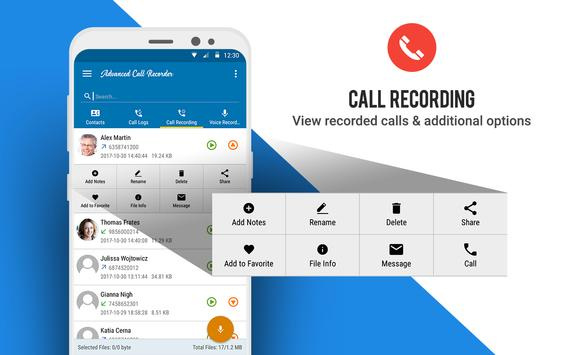 Advanced Call Recorder screenshot 8
