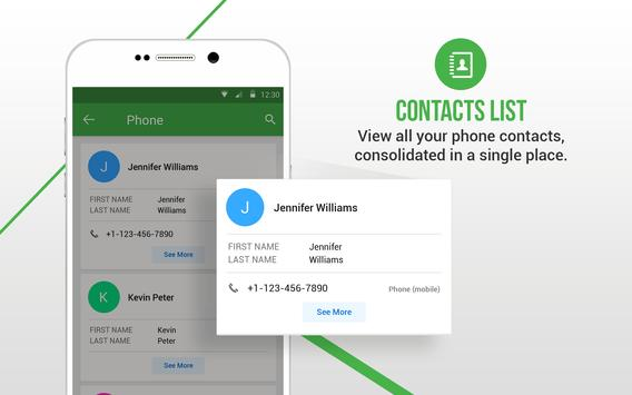 Duplicate Contacts Fixer स्क्रीनशॉट 10