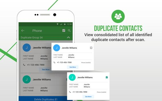 Duplicate Contacts Fixer स्क्रीनशॉट 12