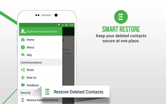 Duplicate Contacts Fixer स्क्रीनशॉट 15