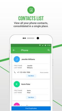 Duplicate Contacts Fixer स्क्रीनशॉट 2