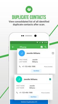Duplicate Contacts Fixer स्क्रीनशॉट 4
