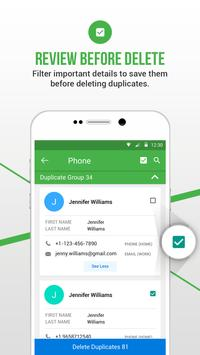 Duplicate Contacts Fixer स्क्रीनशॉट 5