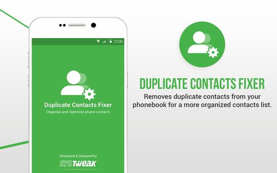 Duplicate Contacts Fixer स्क्रीनशॉट 8