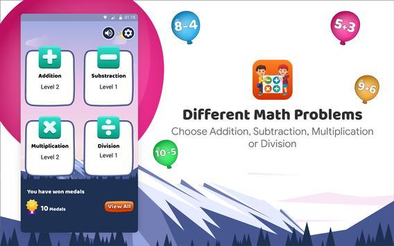 Kids Math App: New way of learning Maths screenshot 13