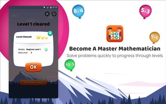 Kids Math App: New way of learning Maths screenshot 10