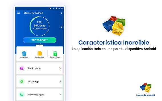 Cleaner For Android captura de pantalla 11