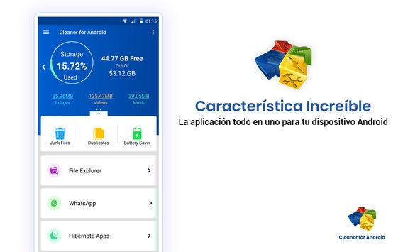 Cleaner For Android captura de pantalla 20